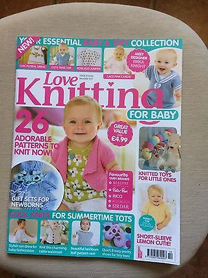 Love Knitting For Baby Magazine Issue 10 June/july 2013