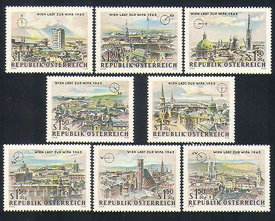 Austria 1964 Buildings/Architecture/Vienna/StampEx/WIPA 8v set (n33248)