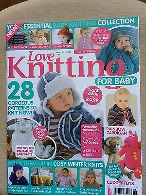 Love Knitting For Baby Issue 8 January 2013