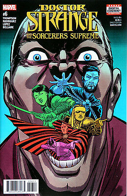 Doctor Strange and the Sorcerers Supreme #6 Marvel (NS5)