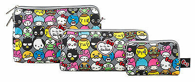 Ju Ju Be Sanrio Be Set Hello Friends 3 Bags Pouch Set Baglet NEW