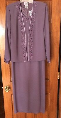 R&M Richards Mother Of Bride Dressy Dress Size 8