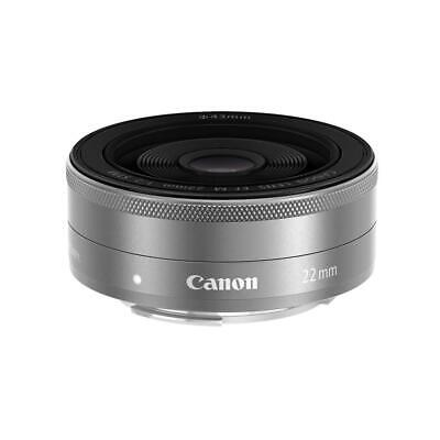 Canon EF-M 22mm f/2 STM Lens - Silver #9808B002