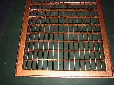 Antique Heating Floor Grates----16 By 19