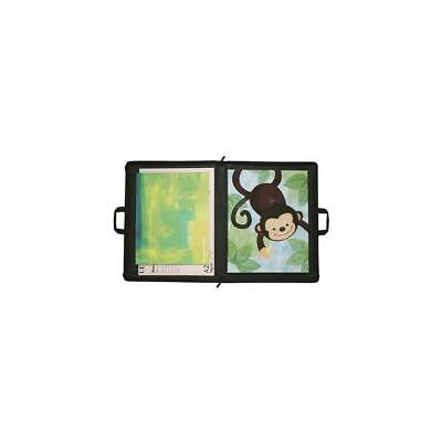"Itoya 23"" x 31"" Zipper Portfolio Art Size Case - Black #ZR-2331BK"