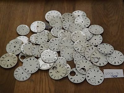 Large Lot Of Pocket Watch Used Dials