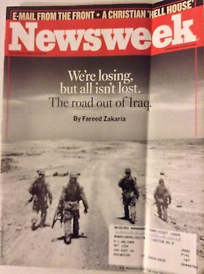 Newsweek Magazine The Road  Out Of Iraq November 6, 2009 081017nonrh