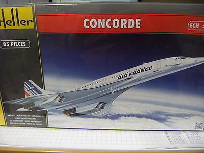 Heller 1:125 80445 Modellbausatz Concorde Air France