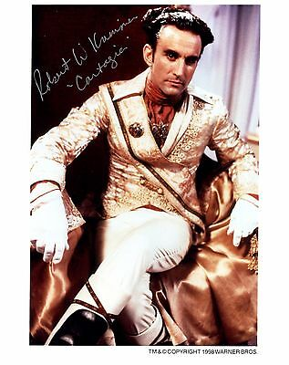 Robert Krimmer signed publicity photo / autograph Babylon 5 Emperor Cartagia