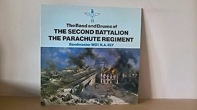 The Band And Drums Of The 2Nd Battalion Parachute Regt (Mm0588) Uk 1982 Lp Ex