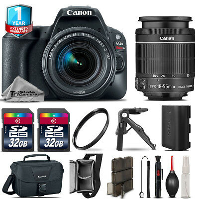 Canon EOS Rebel SL2 DSLR Camera + 18-55mm STM + 1yr Warranty - 64GB Kit Bundle