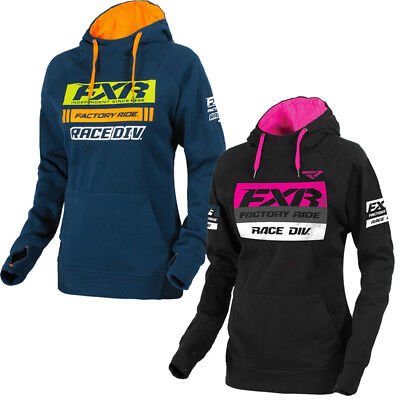 FXR Women's Race Division Pullover Hoodie 2018