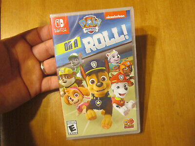 PAW Patrol on a Roll NINTENDO SWITCH BRAND NEW FACTORY SEALED