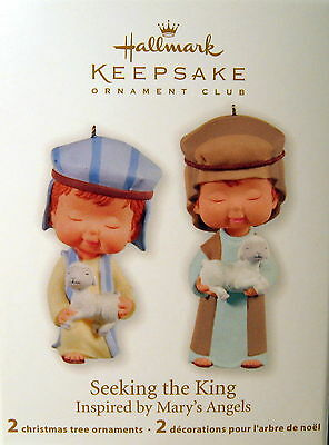 Hallmark 2011 Seeking The King  (Mary's Angels) 2 Pc Set