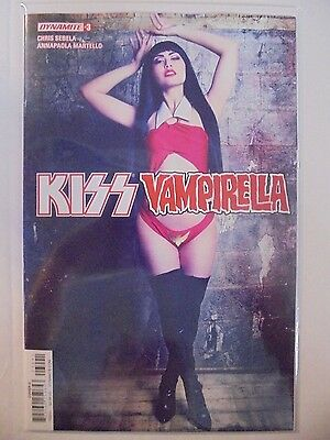 Kiss Vampirella #3 D Photo Cover Dynamite VF/NM Comics Book