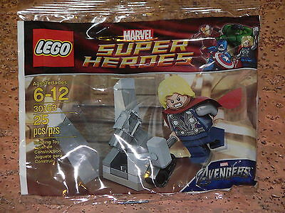 NEW LEGO Marvel Avengers Minifig 30163 Thor and the Cosmic Cube Polybag Promo