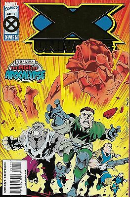 X-Universe No.1-2 / 1995 Scott Lobdell & Carlos Pacheco / The Age of Apocalypse