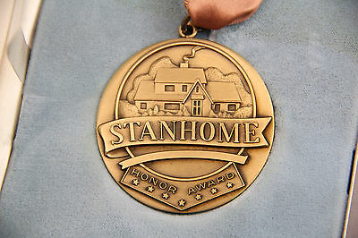 Vintage Stanley Home Products Stanhome Honor Award Westfield Massachusetts