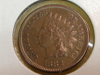 1882 Indian Head Cent XF-AU