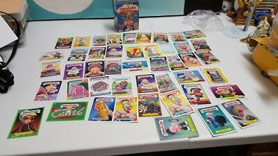 Garbage Pale Kids Lot of 46 Cards Stickers with Box Vintage