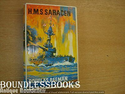 "H. M. S. ""Saracen"" by Reeman, Douglas Hardback Book The Cheap Fast Free Post"