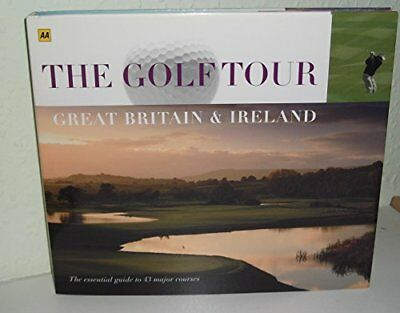 AA The Golf Tour of Great Britain and Ireland by various Book The Cheap Fast