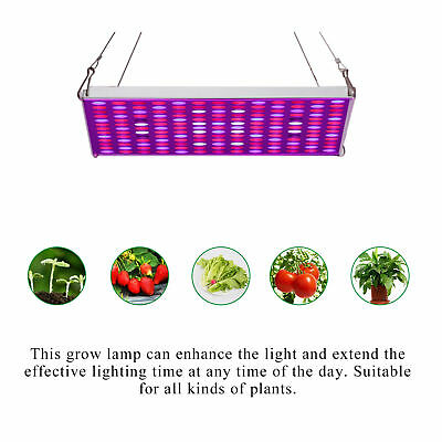 LED Grow Light 45W Plant Lamp Hydroponic Indoor Tent Growing Veg Flower Bloom