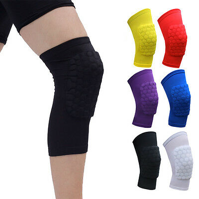 1Pcs Knee Pad Knee Sleeve Guard Support Brace Sport Compression Calf Running