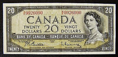 Bank of Canada 1954 Twenty Dollars ($20 ) Banknote