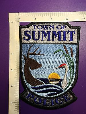 Town Of Summit Wisconsin Police  Shoulder  Patch