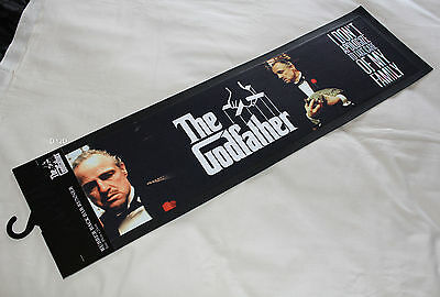 The Godfather Movie Black Printed Rubber Backed Bar Runner Mat New 89x25cm