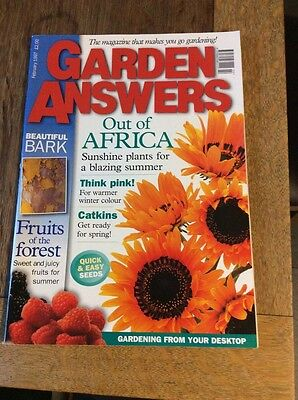 One Garden Answers Magazine From February 1997