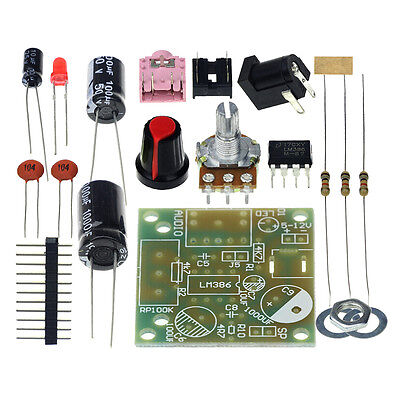 LM386 MINI Mono Amplifier DIY Kit - USA Seller