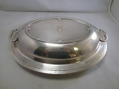 Vintage Wilcox S.P.Co. International Silverplate  COVERED VEG BOWL    ( 7015)
