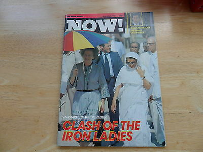 Now! The News Weekly Magazine April 1981 Margaret Thatcher Prince Charles Tour