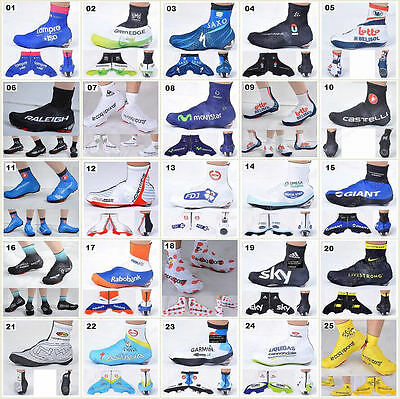 Many style Bicycle Windproof Shoe Covers Outdoor Bike Cycling Zippered Overshoes
