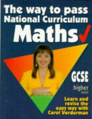 The Way to Pass GCSE Maths: Higher Level by Lewis, Gareth Paperback Book The