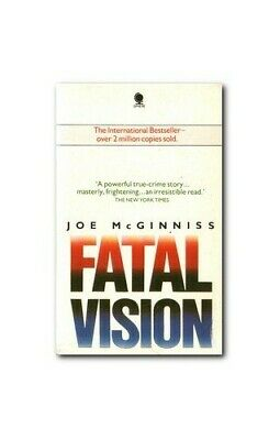Fatal Vision by McGinniss, Joe Paperback Book The Cheap Fast Free Post