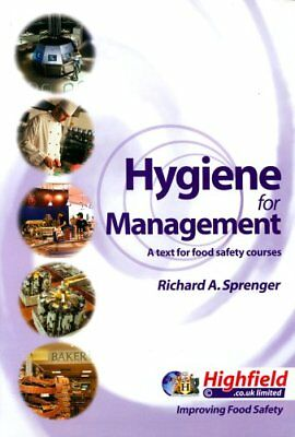 Hygiene for Management by Sprenger, Richard A. Hardback Book The Cheap Fast Free