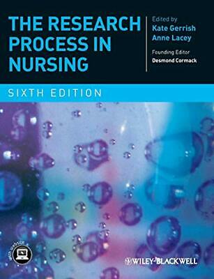 The Research Process in Nursing Paperback Book The Cheap Fast Free Post