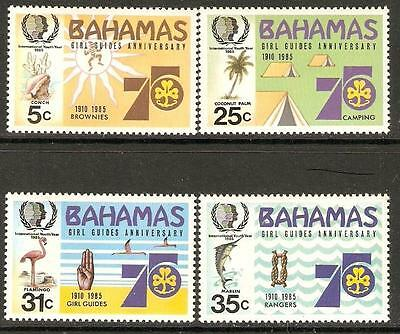 Bahamas Sg703/6 1985 International Youth Year Mnh
