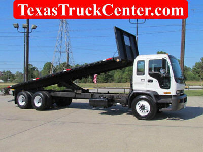 2007 Chevrolet T8500 / Flatbed Dump Body / Moffett Kit  / Tandem Axle