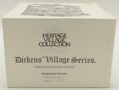 Department 56 Dept King's Road Post Office Dickens Heritage Village Series 58017
