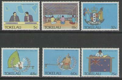 Tokelau Islands Sg159/64 1988 Political Development Mnh