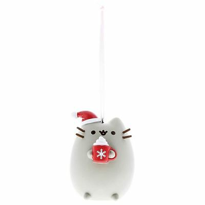 Officially Licensed GUND Pusheen 'Meowy' Christmas Hanging Ornament