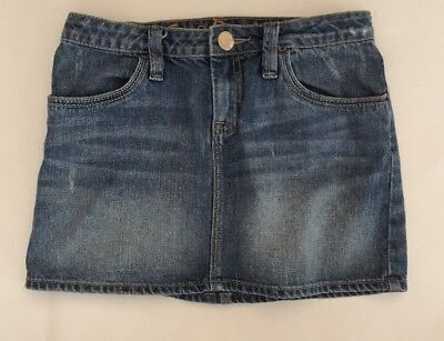 Girls Gap Denim Skirt Size 14 Adjustable Waist
