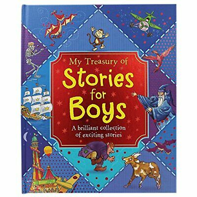 Stories for Boys (Little Monsters Treasury) Book The Cheap Fast Free Post