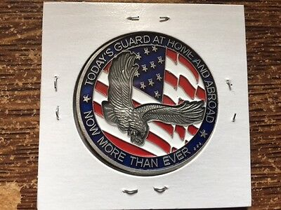 Army/Air National Guard Challenge Coin