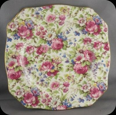 Vintage Royal Winton Grimwades Chintz Summertime Bread and Butter Plate