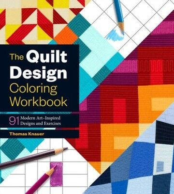 Quilt Design Coloring Workbook, KNAUER, THOMAS, 9781612127859